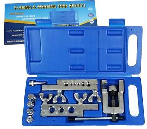 Hvac Flaring And Swaging Tool Kit Flares Soft Refrigeration Copper Tubing