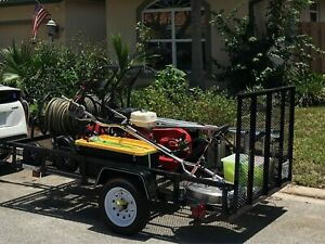 Pressure Washing Trailer excellent Condition Ready To Go