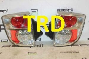 Toyota Celica Trd Rear Clear Tail Lights Brake Lamps 99 06 Zzt230 Zzt231