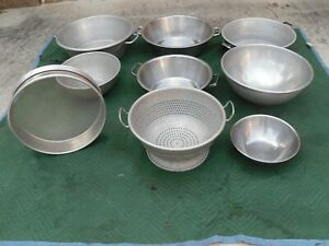 Large Commercial Heavy Duty Colander Sifter Various Sizes Of Salad food Mixers