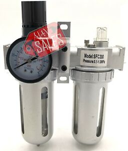 Air Control Filter Compressor Pressure Regulator Water Moisture Trap Dryer Unit