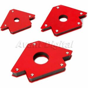 Welding Magnetic Holder Strong Magnet 3 Angle Arrow Power Soldering Locator Tool