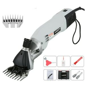 Electric 110v 900w Sheep Shears Wool Scissors Goat Shearing Animal Grooming Usa