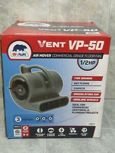 B air Vent Vp 50 1 2 Hp Air Mover Fan Blower Commercial Grade