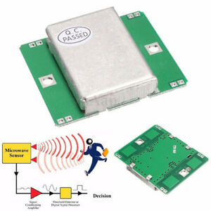 Hb100 Microwave Motion Sensor 10 525ghz Doppler Radar Detector For Arduinwb