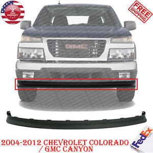 Front Bumper Lower Valance Extension For 2004 2012 Chevy Colorado Gmc Canyon