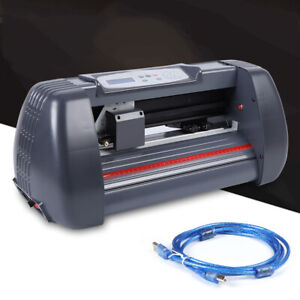 Portable 14 Vinyl Cutter Plotter Carving Machine Sign Sticker Print Graphics Us