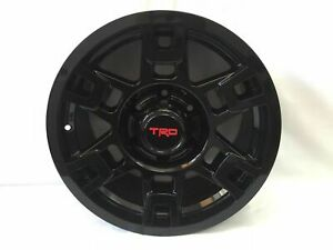 4pc 17 Gloss Black Wheels Toyota Tacoma 4runner Fj Cruiser Sema Pro
