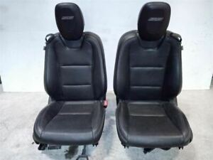 Pair Of Leather Electric Front Bucket Seats From 2010 Camaro Ss 6235001