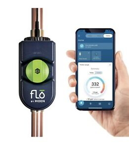 Flo By Moen Smart Water Leak Detector With Automatic Shut Off Valve For 3 4 0