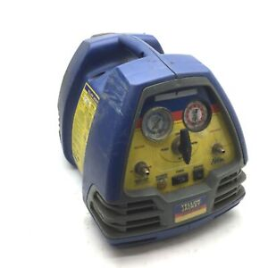 Yellow Jacket 95760 Refrigerant Recovery Machine 2 port 1 4 Male 1 2hp 115vac
