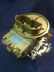 Holley 4412 500 Cfm Two Barrel Oval Track Performance Carburetor