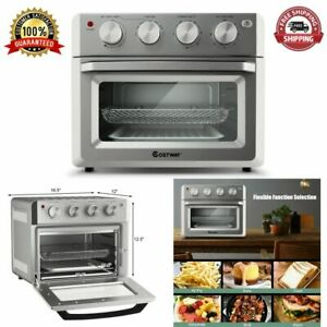 Oven Convection Toaster Air Fryer 7 in 1 Countertop Stainless Steel 19 Quarts