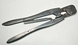 Amp Type f 47566 Hand Crimper Tool 20 18 Awg