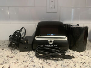 Dymo Labelwriter 4 Xl Printer With Powercord Usb And Two Rolls Of Thermal Paper