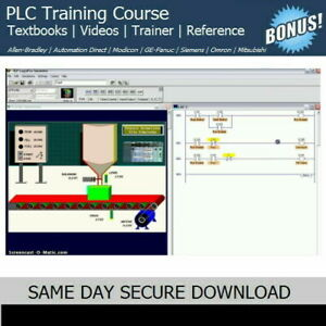 Allen Bradley Plc Training Course With Simulation Trainer Software Fast Access