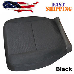 For 2007 2014 Chevy Silverado 1500 2500hd 3500hd Driver Bottom Cloth Seat Cover
