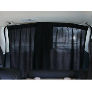 2pcs Car Shades For Side Windows Baby Slidable Curtain Privacy Protection