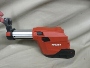 Hilti Te Drs 6 a Dust Collector Removal System For Cordless Rotary Hammer Drill