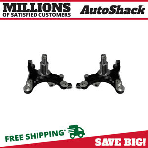 Front Steering Knuckle Without Bearing Pair For 2005 2008 2009 Ford Mustang