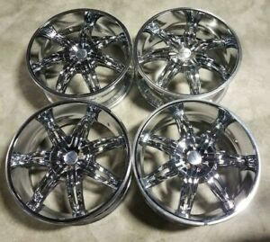 Kmc Wheels Rims 20 Inch 5x115 5x112 15mm Chrome