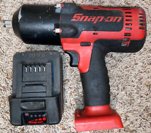 Snap On 1 2 In Cordless Impact Wrench Ct8850 W Battery 18v Ctb7185
