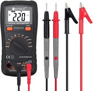 Neoteck Auto Ranging Digital Multimeter Ac dc Amp Ohm Voltage Tester Meter With