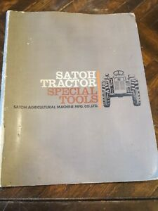 Satoh Special Tools Tractor Parts Manual Book Catalog Mitsubishi