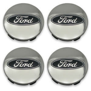 Center Caps 3 Ford F 150 Explorer Expedition Polished Oem fl34 1a096 ca