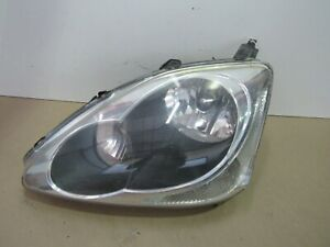 2002 2003 2004 2005 Honda Civic Hatchback Left Headlight Oem Halogen