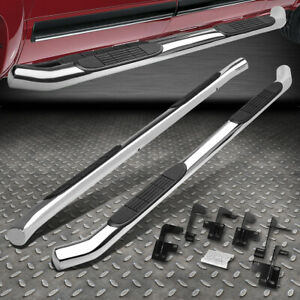 For 19 20 Ram Truck 1500 Quad Cab 3 Tube Stainless Running Board Step Nerf Bar