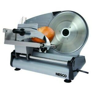 Electric Meat Slicer Bread Cutter Commercial Machine Cheese Food Blade Tool New