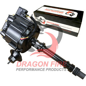 Dragon Fire Blackout Series Hei Ignition Distributor For Chevrolet Chevy Sbc Bbc