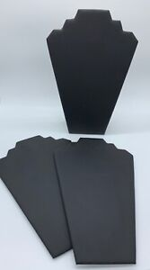 Set Of 3 Padded Cardboard Necklace Display Boards See Notes