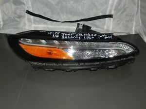 2014 2016 Jeep Cherokee Drl Light Lamp Oem Passenger For Parts