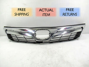 Genuine Oem 2012 2014 Toyota Camry Front Chrome Grille W Out Emblem
