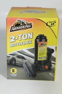 2 Ton Bottle Jack Hydraulic Action 12 Max Ansi Armorall Car Auto Lift Steel