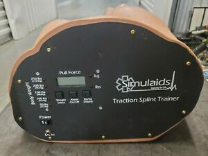 Simulaids Traction Splint Trainer From 50 To 250lbs Tested Only To Power Up