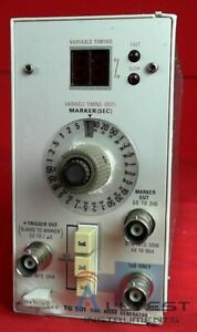 Tektronix Tg501 Time Mark Generator B032797 Calibrated