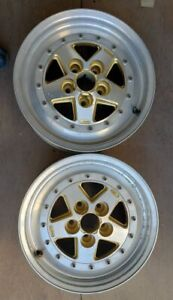 Gotti Wheels Rims 16 Inch 5x112 2 pc Gold Polished Price Per Wheel