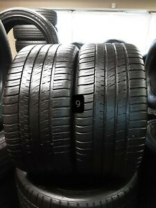 Set Of 2 255 35 20 Michelin Pilot Sport A s 3plus 97y 0917 Dot Slightly Used