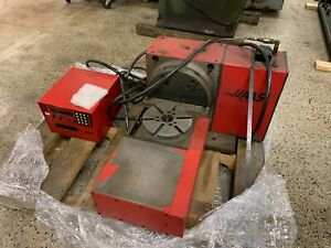 Haas Trt 210 2 axis Rotary Table Indexer 8 3 Dia With Control 4th 5th Axis