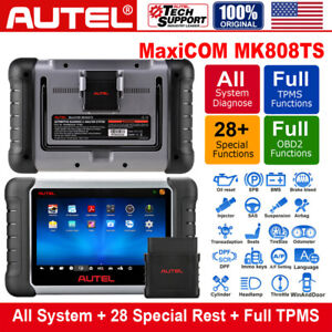 Autel Mk808ts Complete Tpms All System Service Airbag Reset Diagnostic Scan Tool