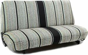 Universal Saddleblanket Seat Cover For Truck And Car Bench Seats Various Colors