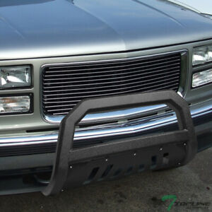 Topline For 1997 2000 Chevy Gmc C10 C K Truck Avt Bull Bar Guard Textured Black