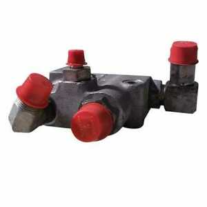 Used Port Block Valve Compatible With Bobcat 743 645 741 642 742 643 641 6565748