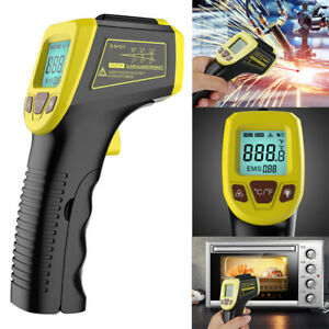 Digital Thermometer Infrared Temperature Gun Non contact Laser 58 To 1112 Us