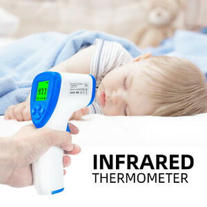 Usa Ship Forehead Thermometer Digital Termometro Non contact Laser Infrared Ir