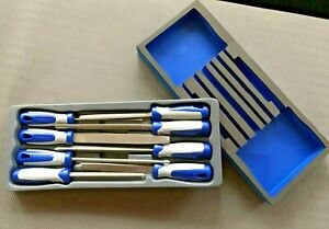 Blue Point 8pc File Set As Sold By Snap On Incl Vat Free Matching Foam Insert