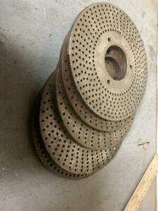 Dividing Head Rotary Table Indexing Plates 5